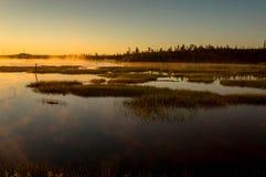Evening lake Stock Photography