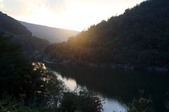 Evening lake Royalty Free Stock Image