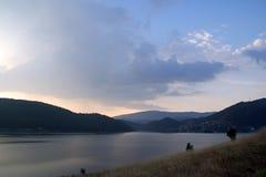 Evening lake Stock Image