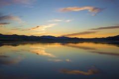 Evening lake royalty free stock images