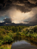 Evening Landscape Royalty Free Stock Images