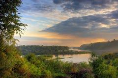 Evening landscape Stock Photo