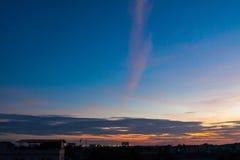 Evening landscape Stock Photography