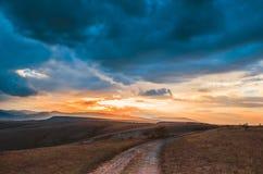 Evening landscape Royalty Free Stock Photo