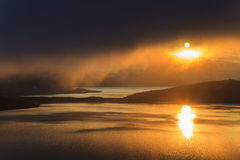 Evening landscape of Norway Stock Photography