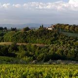 Evening landscape. Tuscany, Italy Stock Image
