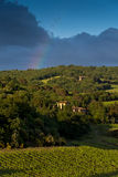 Evening landscape. Tuscany, Italy Royalty Free Stock Photos