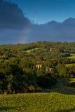 Evening landscape. Tuscany, Italy Royalty Free Stock Photos