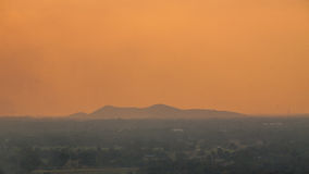 Evening landscape Stock Images