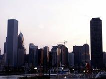 Evening Light. Chicago skyline, early evening Royalty Free Stock Photo