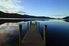 Evening Light on Ashness Pier Royalty Free Stock Images