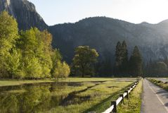 Evening Light, Yosemite National Park, California Stock Images