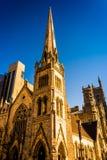 Evening Light On Arch Street Methodist Episcopal Church In Phila