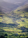 Evening Light over Edale Royalty Free Stock Images