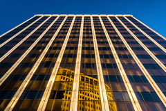 Evening light on the PNC Bank Building in downtown Wilmington, D. Elaware stock photos