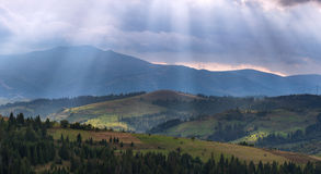 Alps nature. Autumn in alps Stock Image