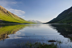 Evening at Loch Etive - Scotland, UK Stock Images