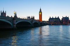 Evening in London. Stock Images