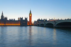 Evening in London. Royalty Free Stock Photos