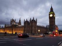 Evening London stock photography
