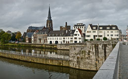 Evening Maastricht, Netherlands Royalty Free Stock Images