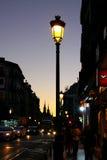 Evening Madrid Stock Photography