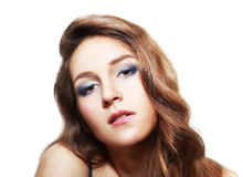 Evening make-up Royalty Free Stock Photography