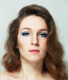Evening make-up Stock Photography