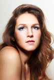 Evening make-up Royalty Free Stock Photo
