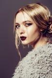 Evening makeup Royalty Free Stock Photo