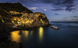 Evening in Manarola Stock Photos