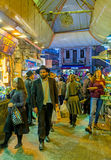 The evening market Royalty Free Stock Images