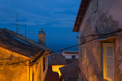 Evening Mediterranean rooftops Royalty Free Stock Photo