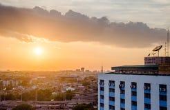 Evening metropolis - Bangkok Stock Image