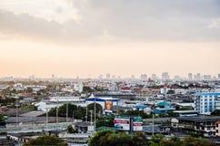 Evening metropolis - Bangkok Stock Photography