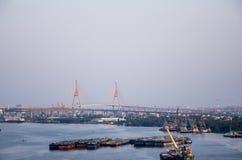 Evening metropolis - Bangkok Stock Photo