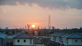 Evening metropolis - Bangkok Stock Images