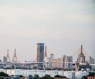 Evening metropolis - Bangkok Royalty Free Stock Photo