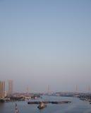 Evening metropolis - Bangkok Royalty Free Stock Image