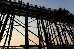 Evening at Mon bridge Stock Photos