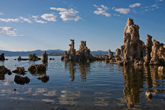Evening on Mono Lake Royalty Free Stock Image