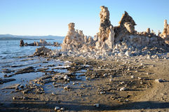 Evening Mono Lake Tufa Stock Photography