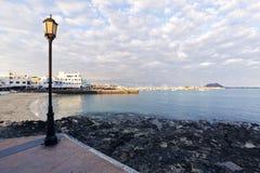 Evening mood at Corralejo, Fuerteventura Royalty Free Stock Photography