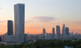 Evening in Moscow Stock Photo