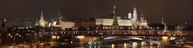 EVENING MOSCOW. Stock Photography
