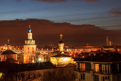 Evening Moscow Stock Image