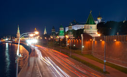 The evening Moscow Stock Photo