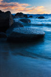 Evening Motion, Lake Tahoe, Nevada / California Stock Photos