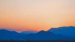 Evening Mountain royalty free stock photography