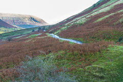 Evening in mountain valley, Britain Royalty Free Stock Image